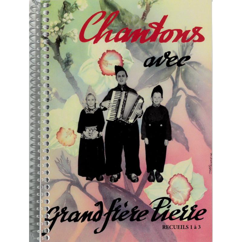 Ce recueil regroupe les 3 cahiers de chants de Pierre van Woerden en français