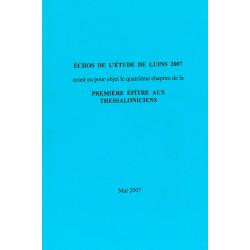 Echos de l'étude de Luins 2007