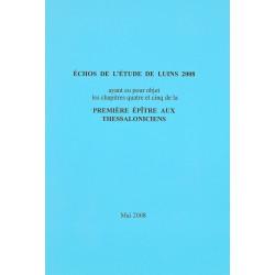 Echos de l'étude de Luins 2008