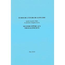 Echos de l'étude de Luins 2010