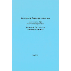 Echos de l'étude de Luins 2011